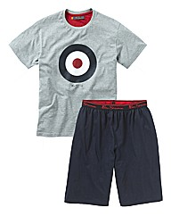 Ben Sherman Short and T-Shirt PJ Set