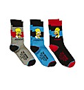 Simpsons Pack 3 Socks