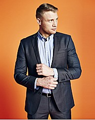 Flintoff By Jacamo Fashion Suit Jacket R