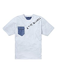 Eto Chambray Pocket T-shirt