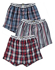 Joe Browns Pack of 3 Woven Boxers