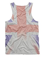 Label J Printed Vest Long