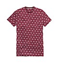 Label J All Over Print T-Shirt Long