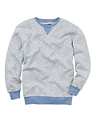 Label J Crew Neck Sweatshirt Reg