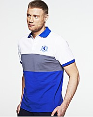 Flintoff By Jacamo Colour Block Polo L