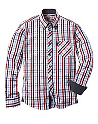 Lambretta Long Sleeved Checked Shirt