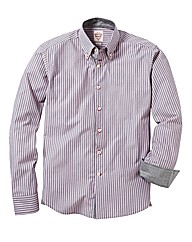 Lambretta Long Sleeved Striped Shirt