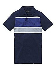 French Connection Stripe Polo