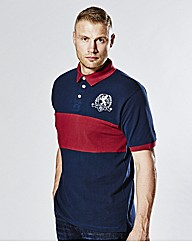 Flintoff by Jacamo Panel Polo Long