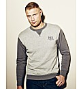 Flintoff by Jacamo Crew Neck Jumper Reg
