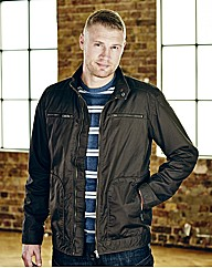 Flintoff By Jacamo Bomber Jacket Regular