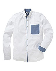 Jacamo Contrast Pocket Shirt Long