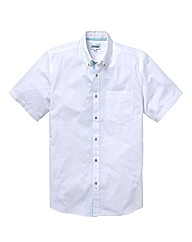 Jacamo Short Sleeve Summer Shirt Long