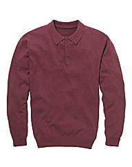 Jacamo Long Sleeve Knitted Top
