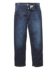 Jacamo Stretch Fashion Jean 33in Leg