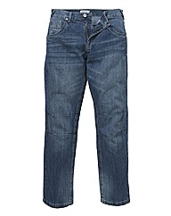 Jacamo Knee Panel Jean 33in Leg