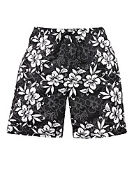 Jacamo Floral Print Swimshort
