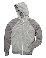 Jacamo Modern Full Zip Hood Long