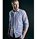 Flintoff By Jacamo Small Check Shirt L