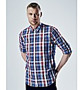 Flintoff By Jacamo Large Check Shirt L
