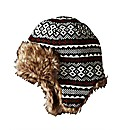 Jacamo Printed Trapper Hat with Fur Trim