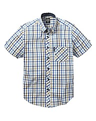 Lambretta Short Sleeve Check Shirt Long
