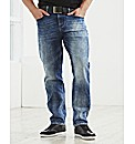 Voi Collam Stretch Denim Jeans 33In Leg