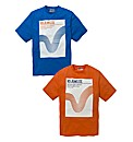 Voi Pk2 Graphic T-Shirts