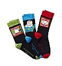 Family Guy Pack of 3 Giftbox Socks