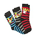 The Simpsons Pack of 3 Giftbox Socks