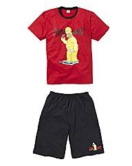 The Simpsons Stupid Gravity PJ Set