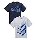 Gio Goi Pack Of Two T-shirts