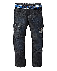 Crosshatch Cargo Jean 31In Leg Length