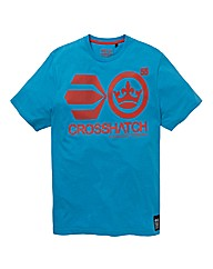 Crosshatch Merton Printed T-shirt
