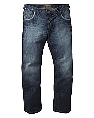 Mish Mash Tapered Jeans 33In Leg Length