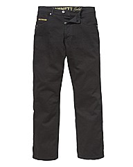 Hamnett Gold Stretch Jean 31In Leg