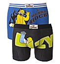 The Simpsons Pack of 2 Boxers