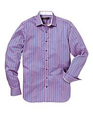 Ben Sherman Satin Stripe Shirt L