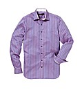 Ben Sherman Satin Stripe Shirt L