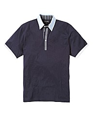 Black Label Badge Polo Long Length