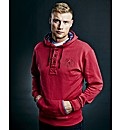 Freddie Flintoff Button Thru Hood Long