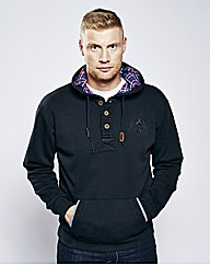 Freddie Flintoff Button Thru Hood Reg
