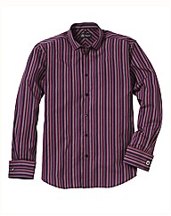Black Label Stripe Shirt Long