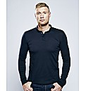 Flintoff By Long Sleeve Polo Regular