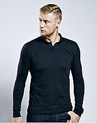 Flintoff By Long Sleeve Polo Long