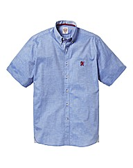 Lambretta Short Sleeve Chambray Shirt Re