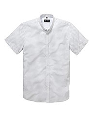 Black Label Small Print Shirt Reg