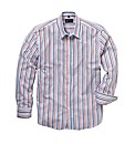 Black Label By Jacamo Stripe Shirt Long