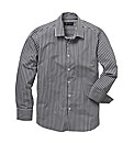 Black Label Gingham Check Shirt Long