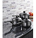 Pendeford 3 & 5 Piece Pan Sets